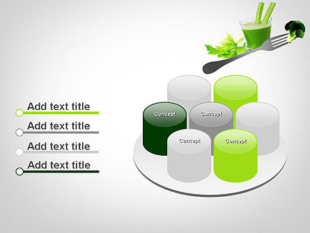 Green Nutrition Drink PowerPoint Template Slide 12