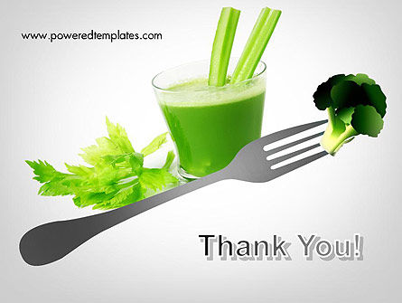 Green Nutrition Drink PowerPoint Template Slide 20