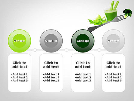 Green Nutrition Drink PowerPoint Template Slide 5