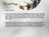 Generating Plant PowerPoint Template#2