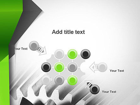 Cogwheels Theme PowerPoint Template Slide 10