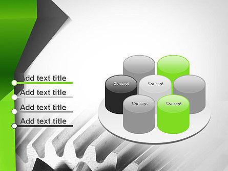 Cogwheels Theme PowerPoint Template Slide 12