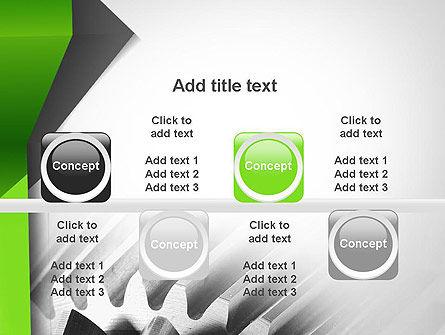 Cogwheels Theme PowerPoint Template Slide 18