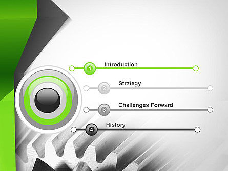 Cogwheels Theme PowerPoint Template, Slide 3, 11704, Utilities/Industrial — PoweredTemplate.com