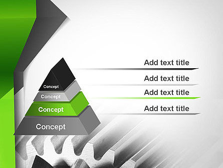 Cogwheels Theme PowerPoint Template, Slide 4, 11704, Utilities/Industrial — PoweredTemplate.com