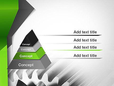 Cogwheels Theme PowerPoint Template Slide 4