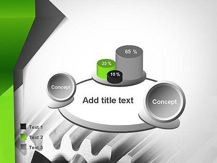 Cogwheels Theme PowerPoint Template Slide 6