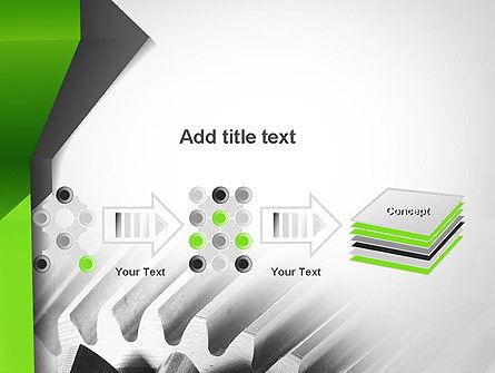 Cogwheels Theme PowerPoint Template Slide 9