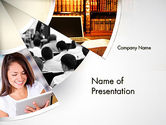 Education & Training: Law Education PowerPoint Template #11706