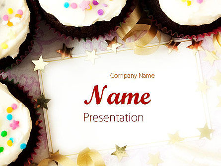 birthday invitation powerpoint template, backgrounds | 11709, Powerpoint templates