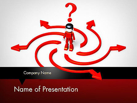 Choosing Success Way PowerPoint Template
