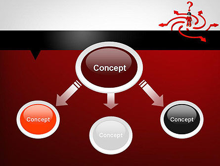Choosing Success Way PowerPoint Template Slide 4