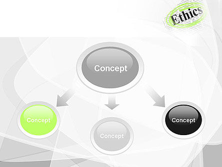 Code of Ethics PowerPoint Template, Slide 4, 11713, Business Concepts — PoweredTemplate.com