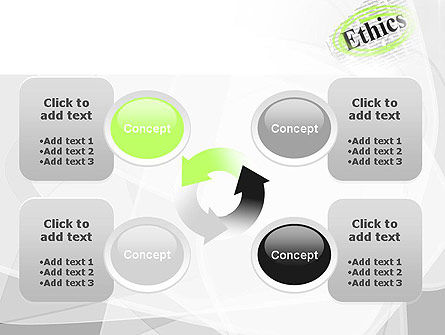 Code of Ethics PowerPoint Template Slide 9
