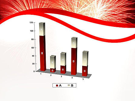 Bright Fireworks PowerPoint Template Slide 17