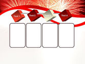 Bright Fireworks PowerPoint Template#18