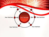 Bright Fireworks PowerPoint Template#7