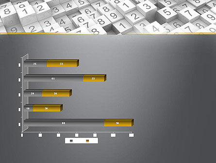 Numbered Cubes PowerPoint Template Slide 11
