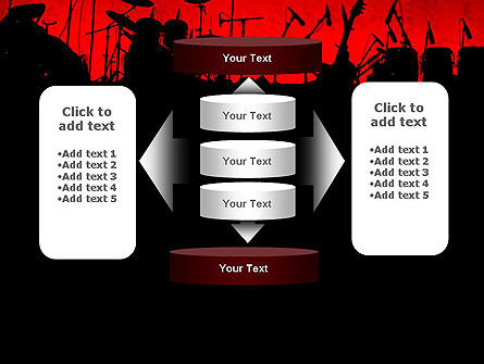 Rock Concert PowerPoint Template Slide 13