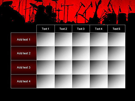 Rock Concert PowerPoint Template Slide 15