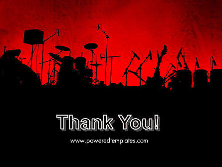Rock Concert PowerPoint Template Slide 20
