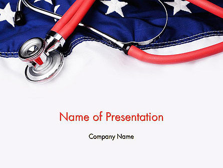 Medical: Templat PowerPoint Reformasi Kesehatan #11721