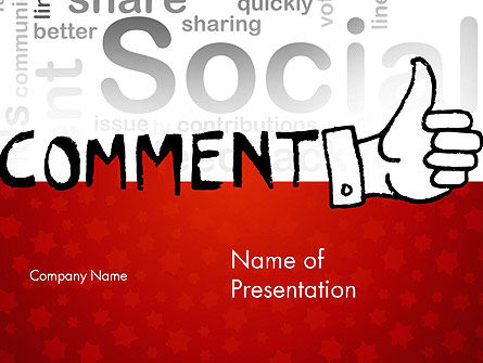 Social Commentary PowerPoint Template