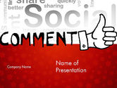 Careers/Industry: Social Commentary PowerPoint Template #11724