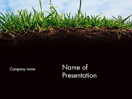 Agriculture: Soil Acidity PowerPoint Template #11727