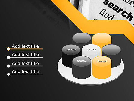 Search Concept PowerPoint Template Slide 12