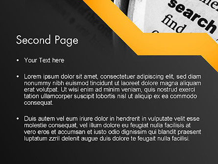 Search Concept PowerPoint Template Slide 2