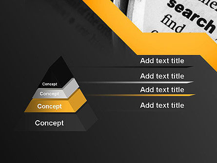 Search Concept PowerPoint Template Slide 4