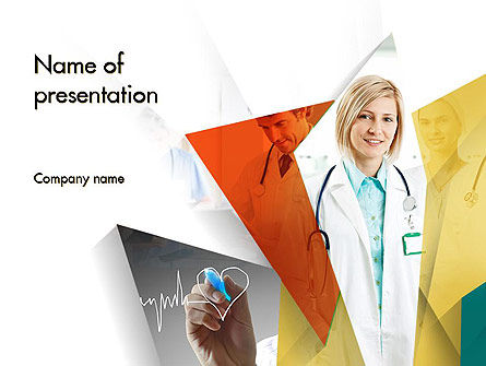 Medical Team PowerPoint Template, 11731, Medical — PoweredTemplate.com