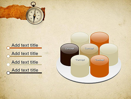 Compass on Parchment PowerPoint Template Slide 12