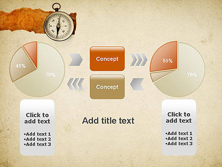 Compass on Parchment PowerPoint Template Slide 16