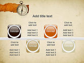 Compass on Parchment PowerPoint Template#18