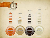 Compass on Parchment PowerPoint Template#7