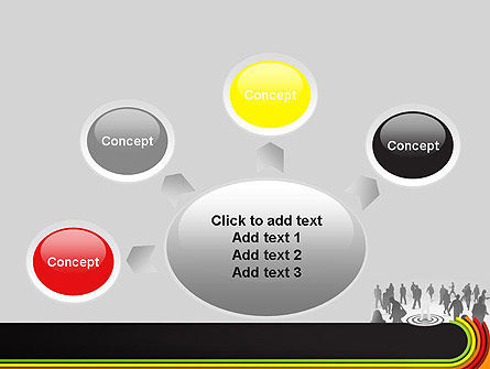 Target Marketing PowerPoint Template Slide 7