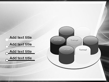 Abstract Gray Banner PowerPoint Template Slide 12