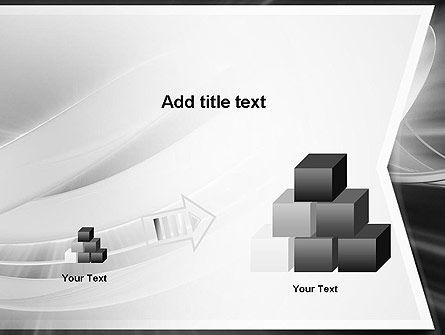 Abstract Gray Banner PowerPoint Template Slide 13