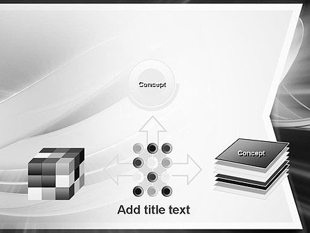 Abstract Gray Banner PowerPoint Template Slide 19