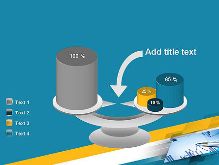 Line Chart Theme PowerPoint Template Slide 10