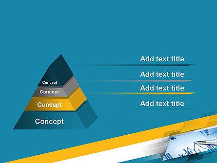 Line Chart Theme PowerPoint Template Slide 12