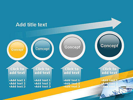 Line Chart Theme PowerPoint Template Slide 13