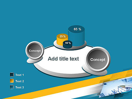 Line Chart Theme PowerPoint Template Slide 16