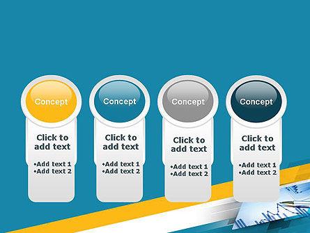 Line Chart Theme PowerPoint Template Slide 5