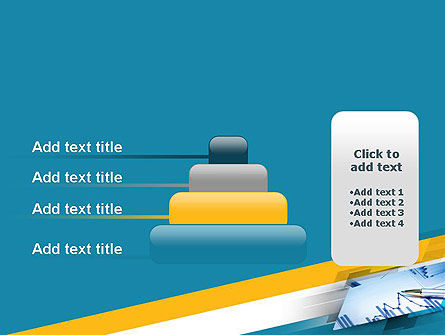 Line Chart Theme PowerPoint Template Slide 8