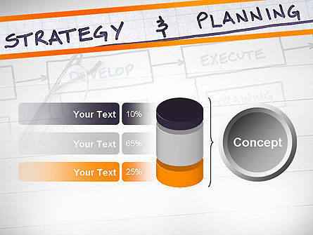 Strategy and Planning Flowchart Theme PowerPoint Template Slide 11