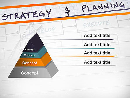 Strategy and Planning Flowchart Theme PowerPoint Template Slide 12