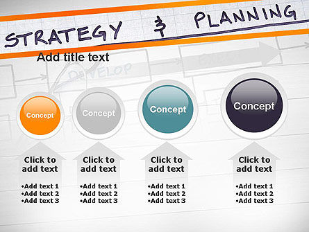 Strategy and Planning Flowchart Theme PowerPoint Template Slide 13